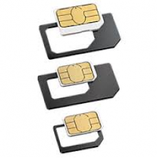 Micro SIM Card adapter >> SIM Size 2FF Version