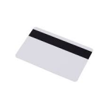 White Smart Card - Magstripe front
